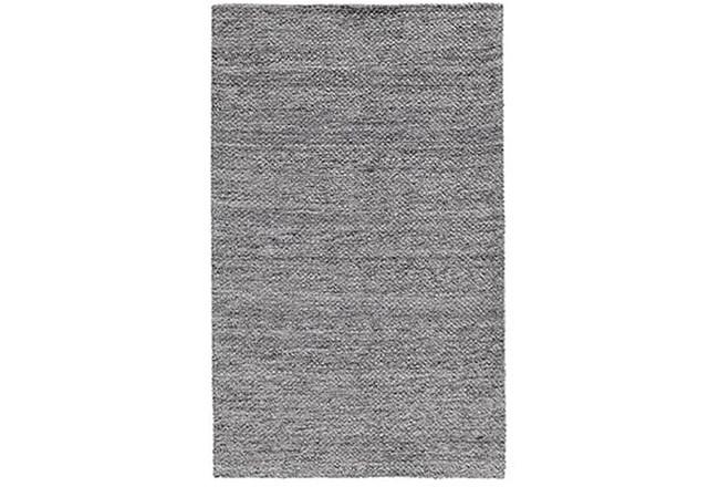 60X96 Rug-Modern Heathered Wool Gray - 360