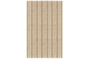 60X96 Rug-Modern Stripe Seagrass Ivory