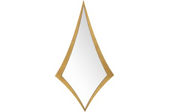 Mirror-Gold Leaf Diamond 25X47
