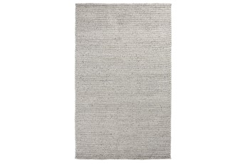 24X36 Rug-Rustic Feather Gray Woven