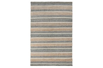 24X36 Rug-Rustic Natural Blue Multi
