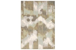 118X154 Rug-Carlton Contemporary Abstract Ivory