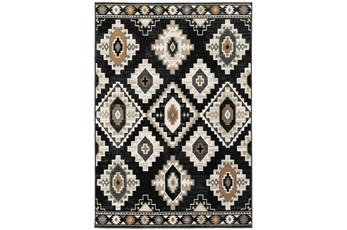 63X87 Rug-Greyson Southwest Diamonds Charcoal