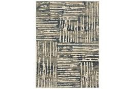 27X91 Runner Rug-Capri Abstract Stripes Beige