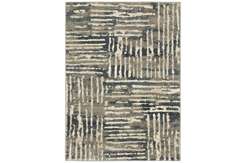 94X120 Rug-Capri Abstract Stripes Beige