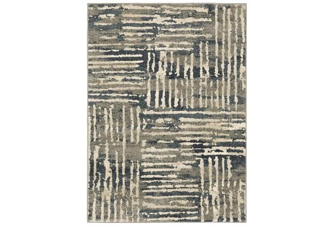 118X154 Rug-Capri Abstract Stripes Beige - 360
