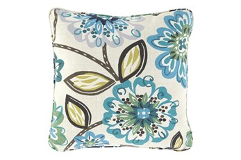 Accent Pillow-Abstract Floral Multi 20X20