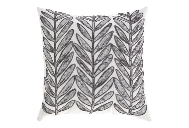Accent Pillow-Leaf With Cord Accent Multi 20X20 - 360