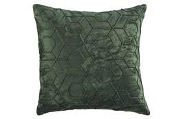Accent Pillow-Hexagon Emerald 20X20