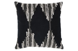 Accent Pillow-Diamond Gray 20X20