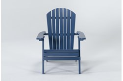 Navy Outdoor Adirondack Chair