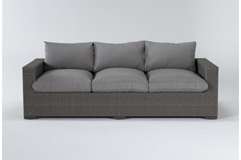 "Sanibel Outdoor Deep Seat 97"" Sofa"
