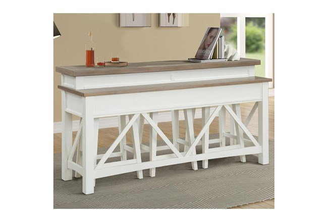 Americana Cotton Modern Everywhere Console Table - 360