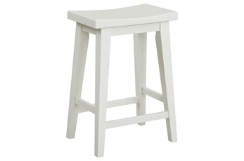 "Americana Cotton Modern 25"" Counter Stool"