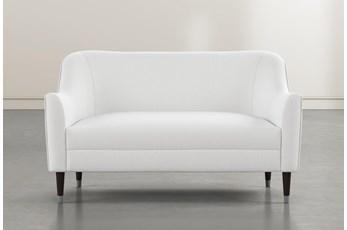 Shape White Settee