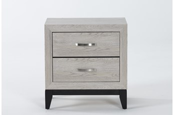 "Finley White 25"" Nightstand"