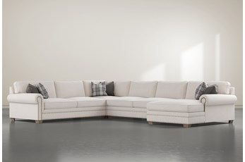 "Chesney 4 Piece 167"" Sectional With Right Arm Facing Chaise"
