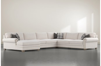 "Chesney 4 Piece 167"" Sectional With Left Arm Facing Chaise"