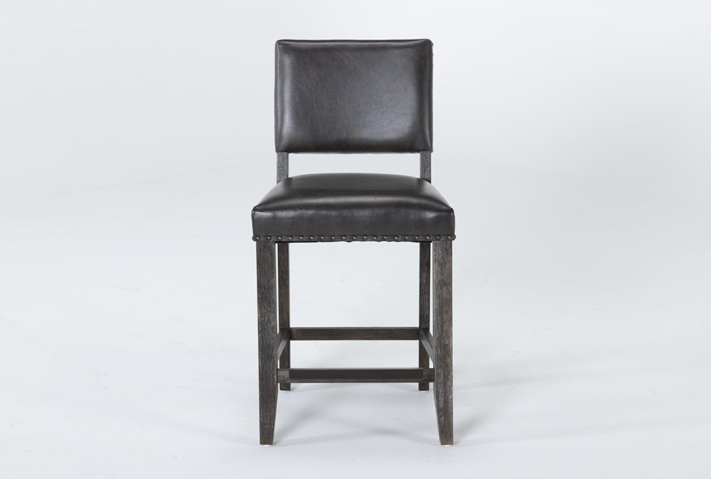 Auburn Charcoal Counter Stool