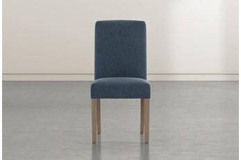 Garten Denim Dining Side Chair With Greywash Finish Set Of 2