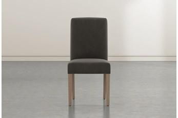 Garten Dark Grey Dining Side Chair With Greywash Finish Set Of 2