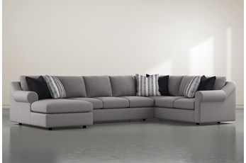 "Bryden 3 Piece 163"" Sectional With Left Arm Facing Chaise"