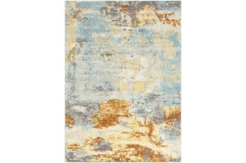 83X108 Rug-Abacos Blue And Sunset