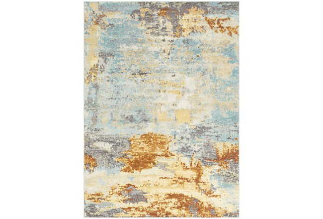 83X108 Rug-Abacos Blue And Sunset - 360