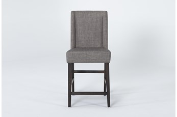 "Double Bridge Upholstered 43"" Counterstool"