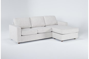 "Doheny Reversible 94"" Sofa/Chaise With Storage Ottoman"