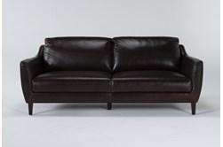 """Gigi II Leather 81"""" Sofa"""