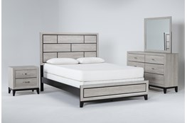 Finley White California King 4 Piece Bedroom Set