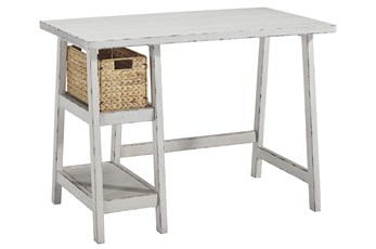 "Darby White 42"" Desk"