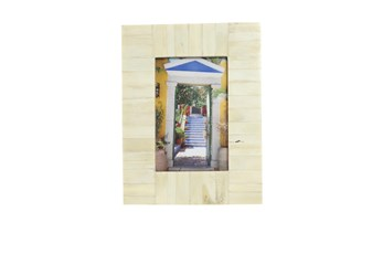 White Bone Inlay Picture Frame