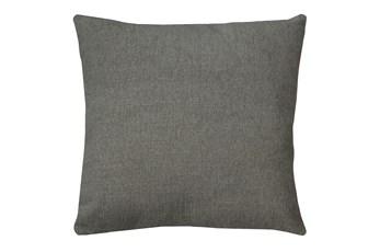 20X20 Curious Silverpine Gray Throw Pillow