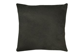 20X20 Geo Raven Brown Gray Throw Pillow