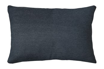 14X20 Zander Indigo Blue Throw Pillow