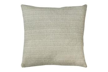 20X20 Macintosh Cotton White Multi Throw Pillow