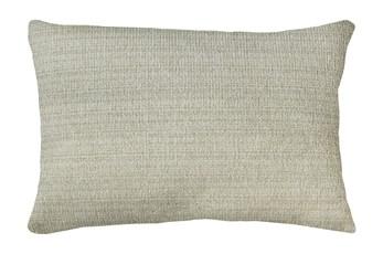 14X20 Macintosh Cotton White Multi Throw Pillow