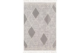51X71 Rug-Talulah Grey Diamonds