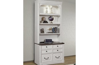 Provence 2Pc Lateral File With  Hutch