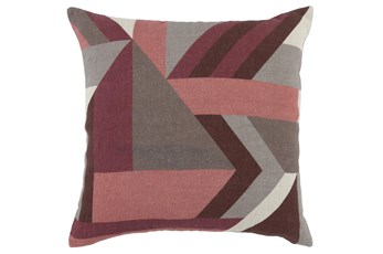 Accent Pillow - Highland Mauve Pink 20X20