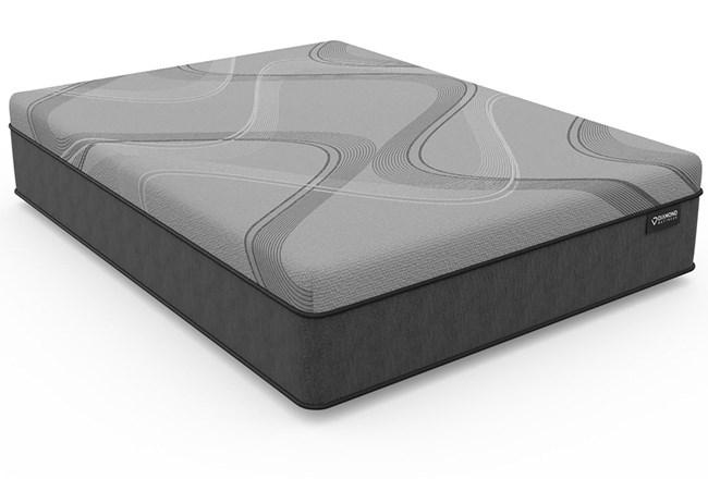 Diamond Carbon Ice Hybrid Plush Twin Mattress - 360