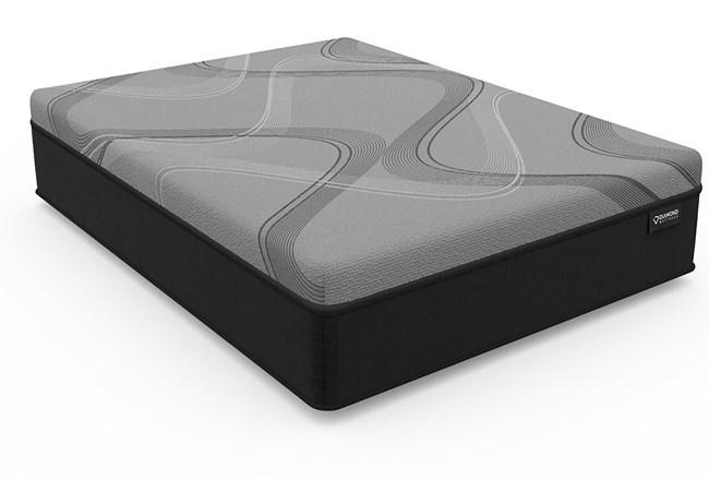 Diamond Onyx Ice Medium Twin Mattress - 360
