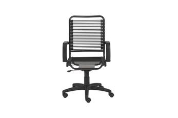 Bergen Black High Back Bungee Desk Chair
