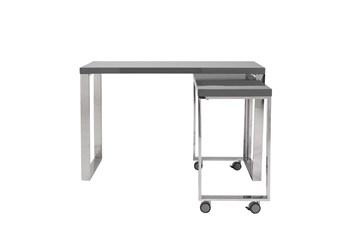 "Del Mar Grey Corner 48"" Desk"