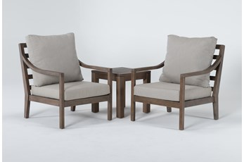 Catalina Outdoor 3 Piece Chat Set