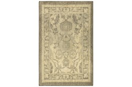 24X36 Rug-Weathered Botanical Grey