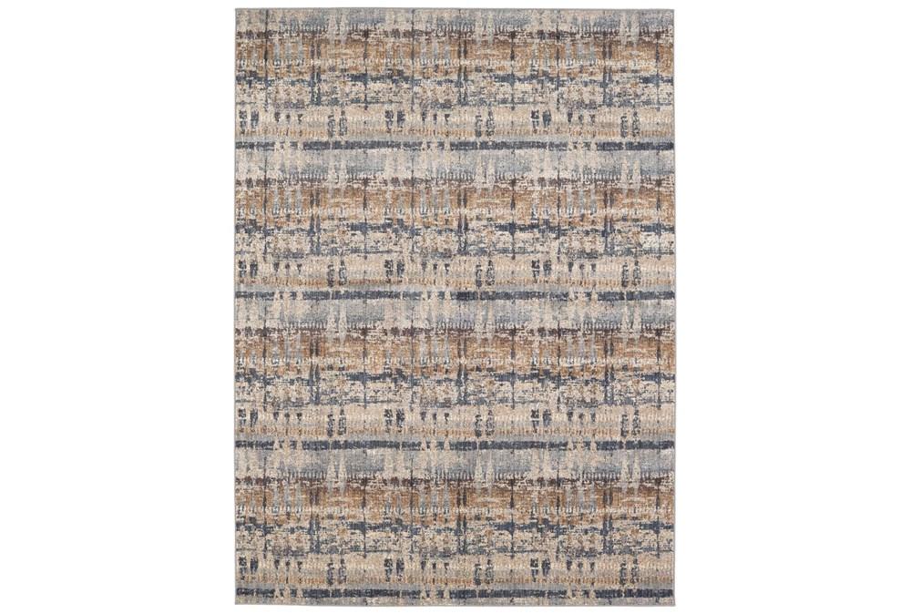 96X132 Rug-Sandpaper Denim