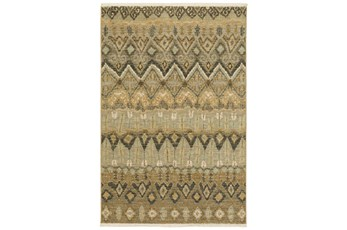 63X94 Rug-Tribal Pattern Grey